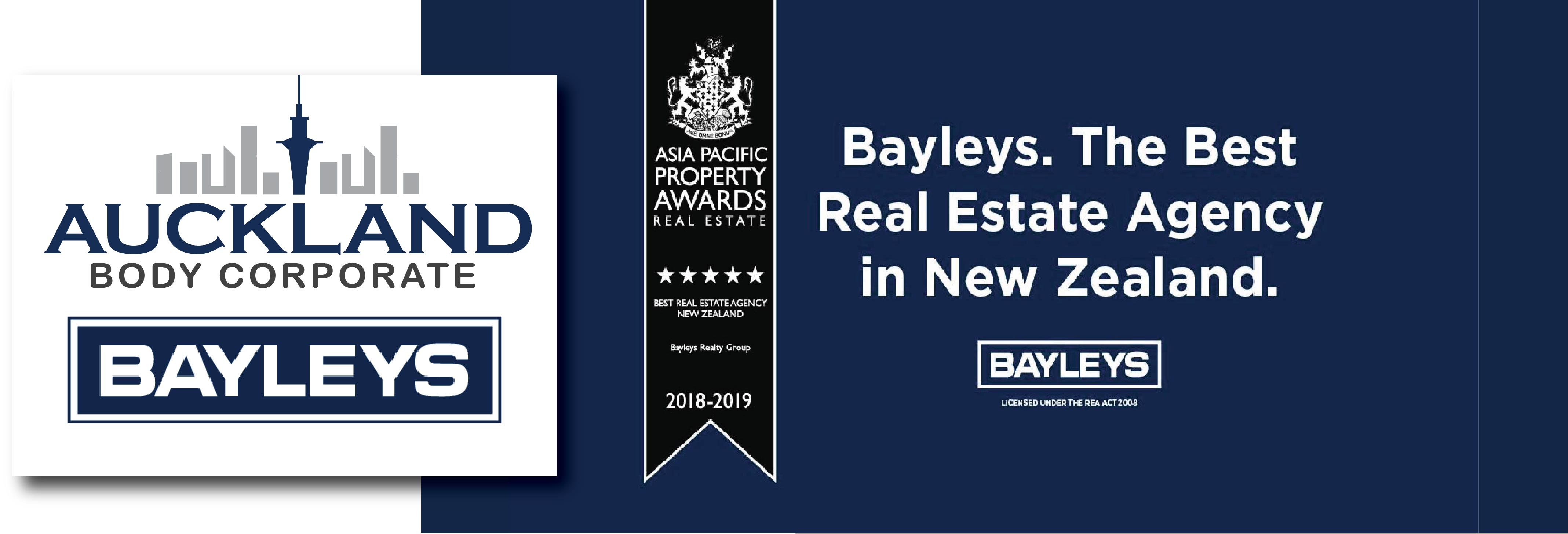 Bayleys named New Zealand's best agency at prestigious real estate awards